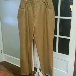Rodelli Uomo men's leather pants.  Sz 42